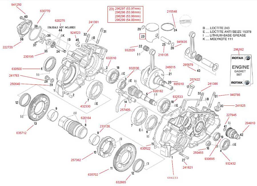 rotax dd2 parts diagram