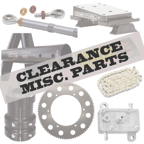 Clearance Misc. Kart Parts