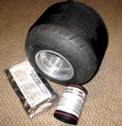 Tire Inflation Containment Strap