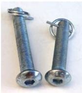 Drilled Button Head Bolt with Cotter