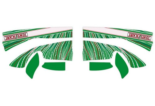 TonyKart M4 Front Fairing Sticker 2013