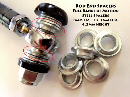 FRoM Tie Rod End Spacers