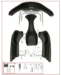 CRG, Complete Bodywork Kit with Mounting
