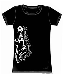 Womens T-Shirt - Vertical Kart