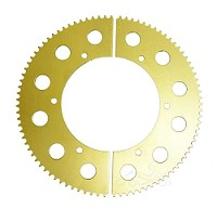 #219 Aluminum Split Sprocket