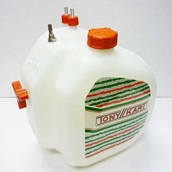 TonyKart KZ Fuel Tank with Decal Kit
