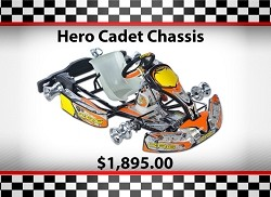 Used SuperNats CRG Hero Cadet Chassis