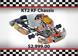 Used SuperNats CRG KT2 KF Chassis