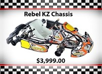 Used SuperNats Rebel KZ Chassis