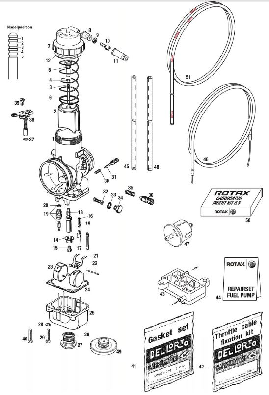 EVO Carburetor, Fuel Pump