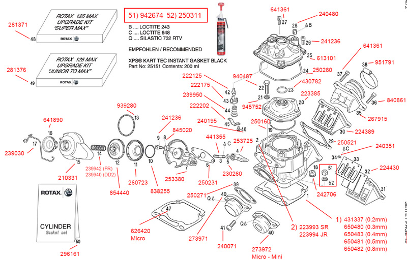 rotax fr125 parts diagram rh accelerationkarting com sea doo rotax engine diagram rotax 717 engine diagram