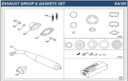 IAME KA100 Carburetor Repair Kit