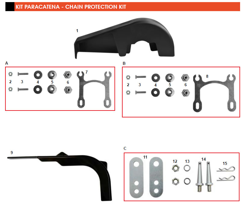 CRG, Chain Protection Kit 2018