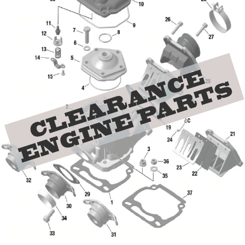 Clearance Engine Parts