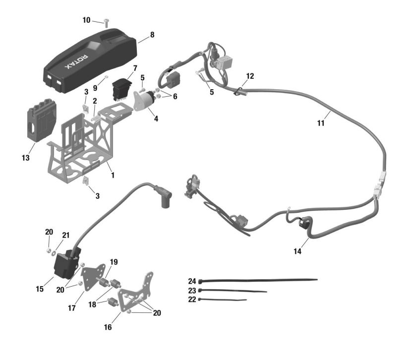 EVO Wiring Harness Kit