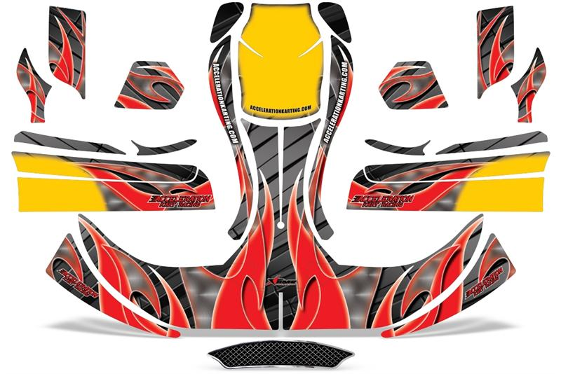 Acceleration Flame Graphics Kit
