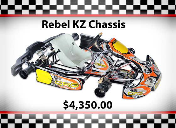 Used CRG Road Rebel KZ Chassis