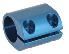 Torsion Clamp 32mm Blue - CLEARANCE