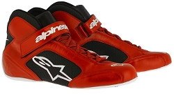 Alpinestars Tech 1-K Shoe 2017 Size 6 Black/Red