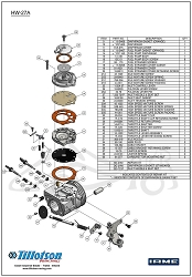 HW-27A Diaphragm & Gasket Set
