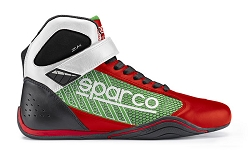 Sparco Omega KB-6 Shoe 2018- Red/Green