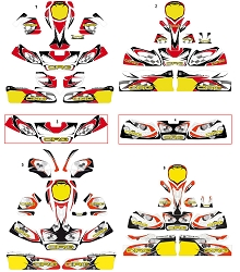 CRG Sticker Kits