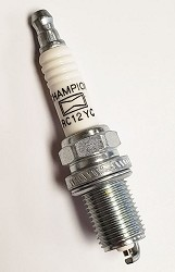 555737 Champion Spark Plug RC12YC (with Briggs logo)