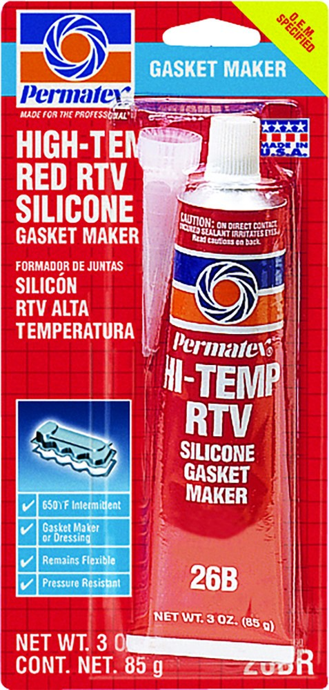 High Temp Red RTV Silicone
