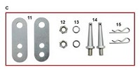 C. CRG KZ Chain Guard Mount Kit