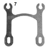 7. CRG, Chain Guard Bracket Mini