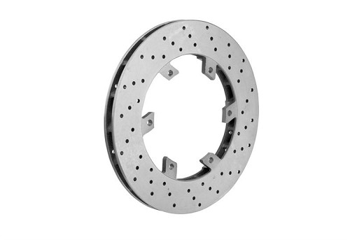 Self-ventilated rear brake disk  206 x 16 mm