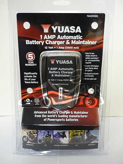 YUASA Battery Charger & Maintainer