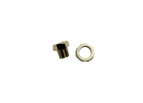 PRD, Temp. Gauge Sealing Bolt & Washer
