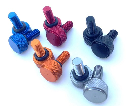 Anodized Aluminum Bead Lock Screw