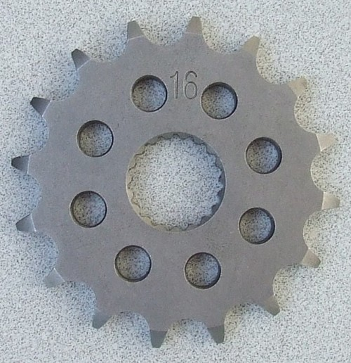 CR125 CounterShaft Sprocket #415