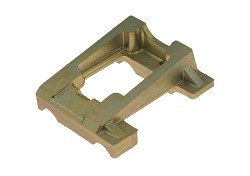 Inclined Mg engine mount 92 x 30 mm