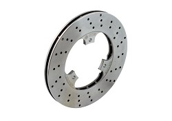 Self-ventilated rear brake disk  180 x 13 mm