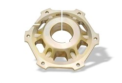 MG disks hub  40 mm for self-vetilated brake disk  206
