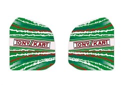 TonyKart Fuel Tank Stickers 8.5 Lts. 2013 - Clearance