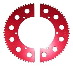 #35 Split Aluminum Sprocket