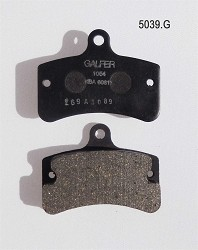 F. Tony BS2 Rear Brake Pad Set Galfer