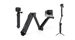 GoPro 3 Way Grip Arm Tripod