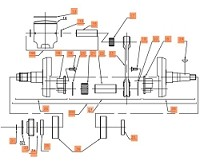 34. Elastic ring SW 19 crankshaft