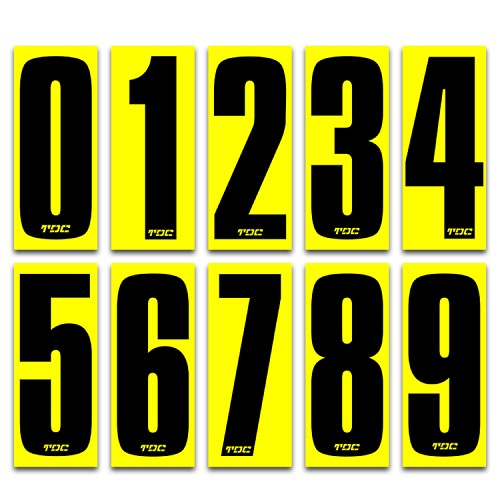 "SKUSA Tall 6"" Compliant Numbers Ea."