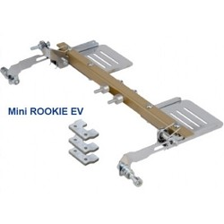 Complete rudder pedals for Mini Rookie EV