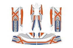 Exprit M6 + M7 bodyworks stickers kit