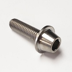 Titanium Flanged Socket Head Bolt