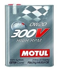 Motul 300V 0w20 4 Stroke Racing Oil