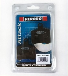 Tony BSD Rear Brake Pad Set Ferodo