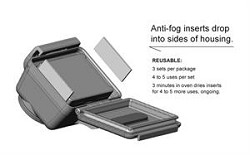 GoPro Hero 2 Anti Fog Inserts